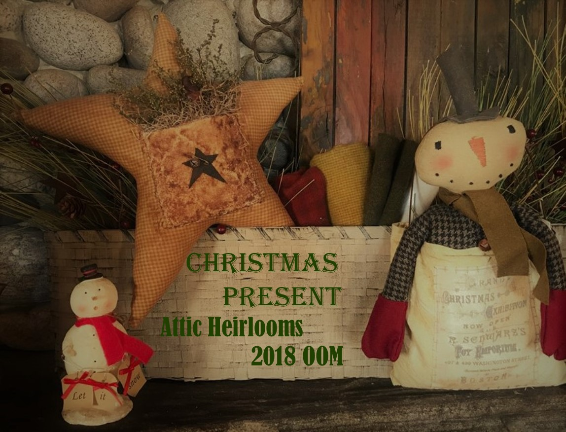 Attic Heirlooms 2018 Ornament of the Month