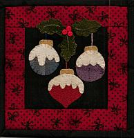 Tiny Quilts thru the year, December