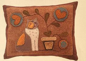 Creature of Habit Cat Pillow