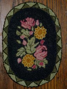 Heirloom Garden Mini Doll House Rug