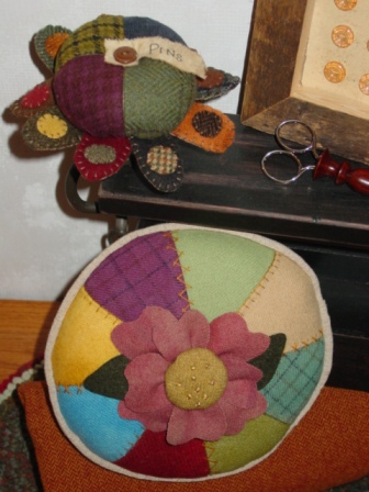 Pennies and Posies Pincushions