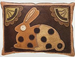 Creatures of Habit Rabbit Pillow