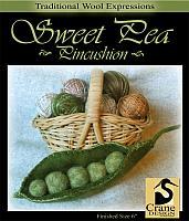 Sweet Pea Pincushion
