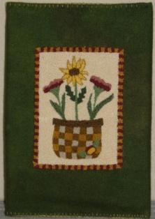 Woven Garden Journal Cover